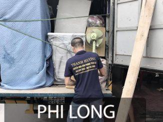 Phi Long cung cấp dịch vụ cho thuê xe tải chở hàng tại đường Nhuệ Giang