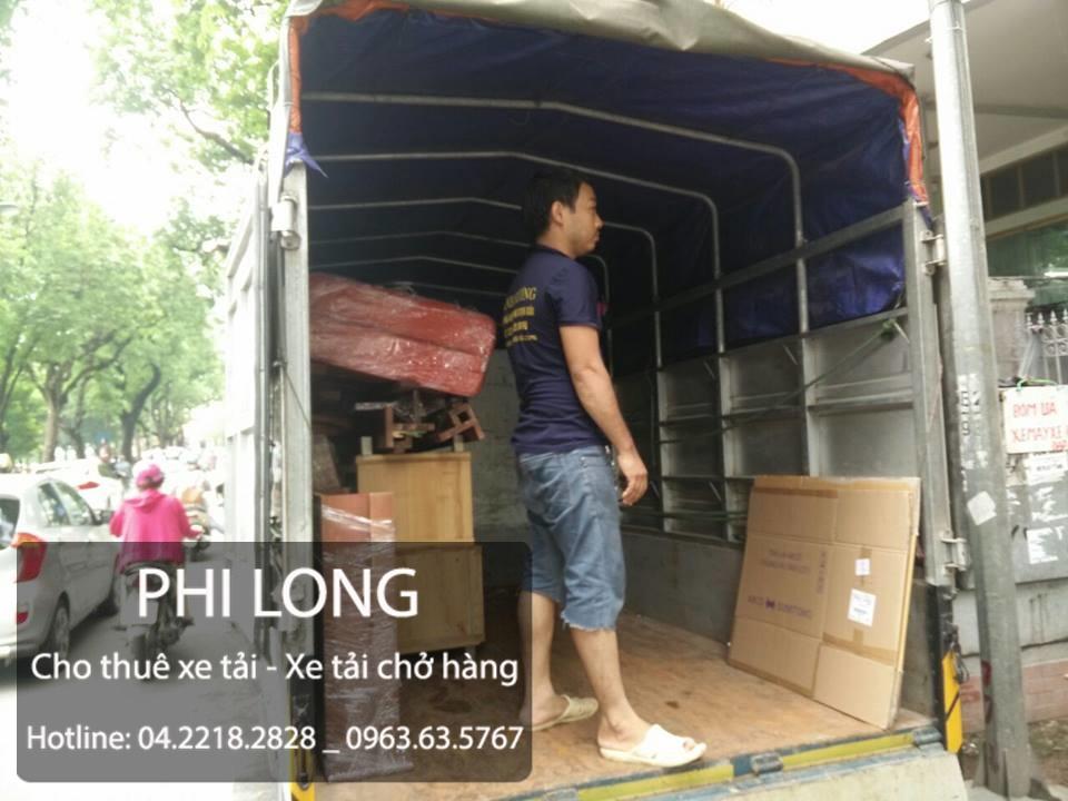 Dịch vụ cho thuê xe tải chở hàng tại đường Nhuệ Giang