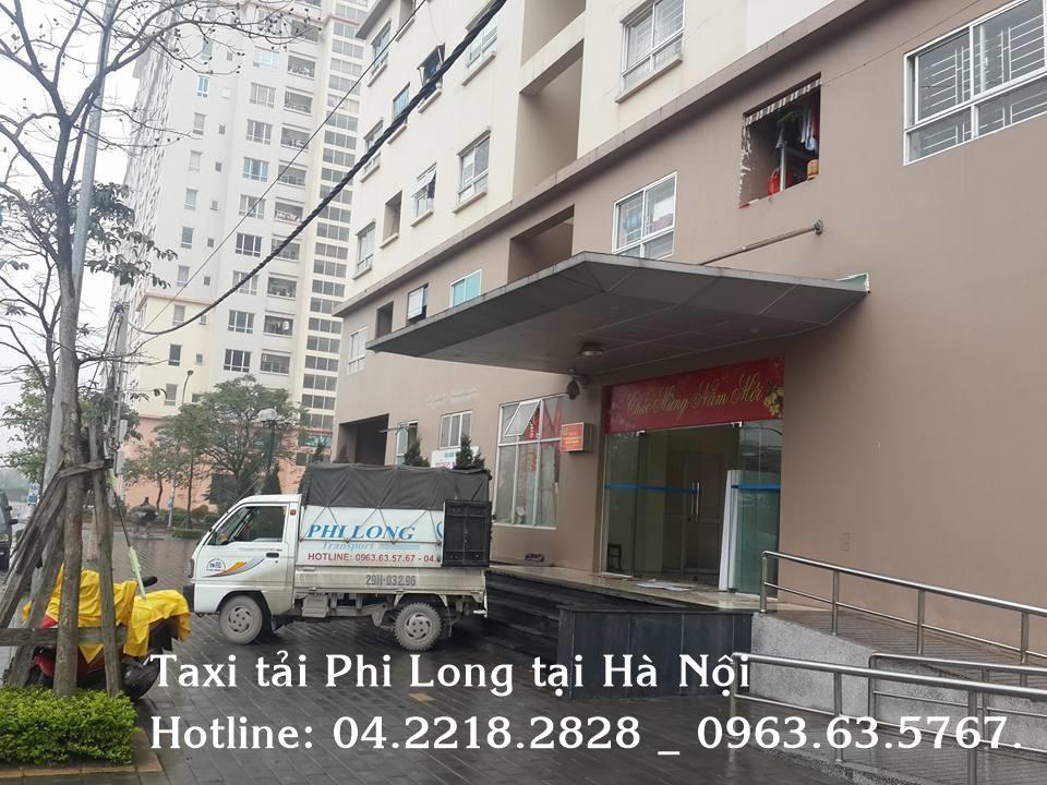 Dịch vụ taxi tải Phi Long tại tại phố Yên Bình