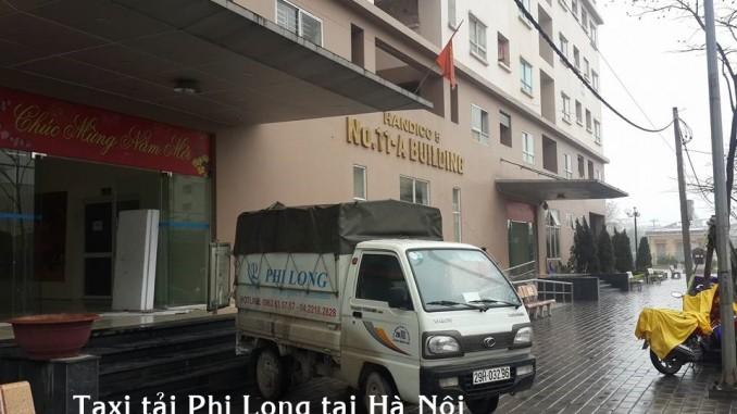 Cho thuê xe tải giá rẻ tại phố Văn Yên