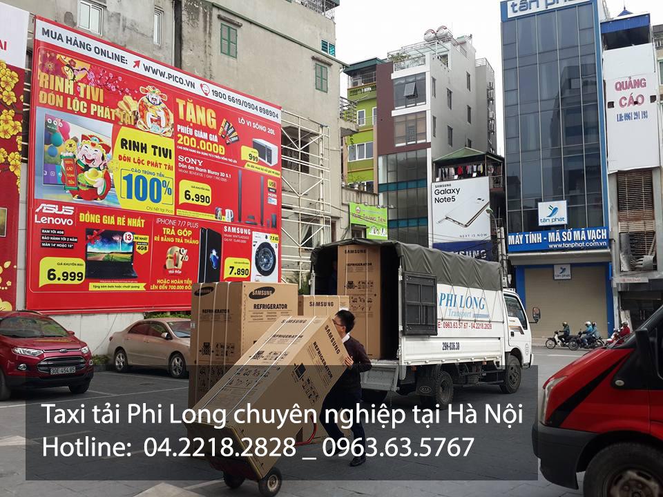 Taxi tải Phi Long chuyên nghiệp nhất tại Hà Nội