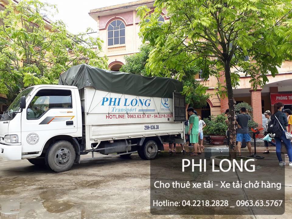 Phi Long hãng cho thuê xe tải chở hàng giá rẻ tại phố Lê Quý Đôn