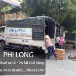 Phi long dịch vụ chuyển nhà, cho thuê xe tải uy tín tại đường Tân Triều