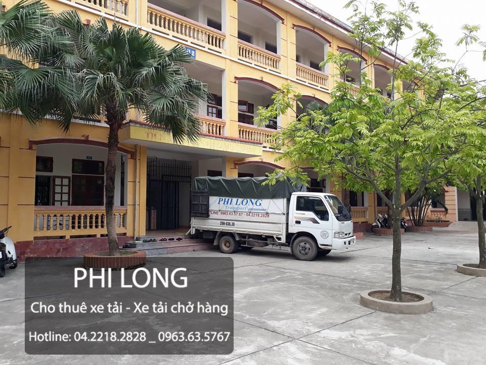 Phi Long hãng cho thuê xe tải chở hàng chuyên nghiệp hàng đầu tại phố Bùi Văn Đoàn
