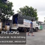 Dịch vụ vận tải Phi Long tại phường Hàng Bột