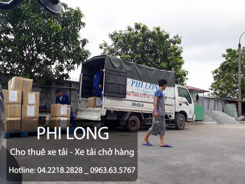 Dịch vụ cho thuê xe tải chở hàng phố Lê Quý Đôn