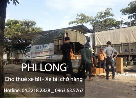 Phi Long dịch vụ cho thuê xe tải chở hàng tại phố Yên Phúc