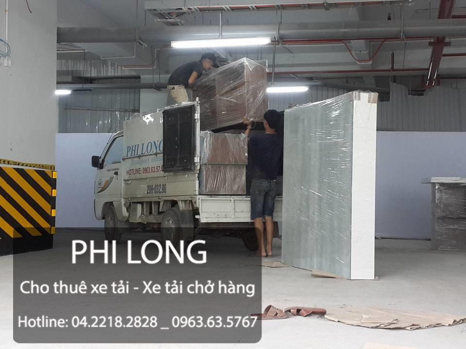 Cho thuê xe tải chở hàng tại phố Yên Phúc