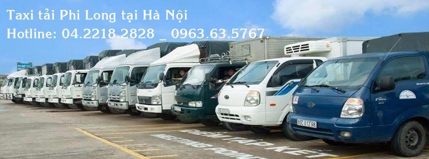 Vận tải Phi Long cho thuê xe tải giá rẻ tại huyện Hoài Đức