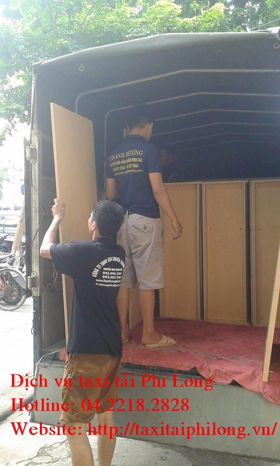 Dịch vụ cho thuê xe tải chuyển nhà trọn gói Phi Long tại phố Lê Trọng Tấn