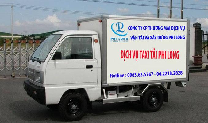 Dịch vụ cho thuê xe tải chuyên nghiệp tại phố Lê Trọng Tấn