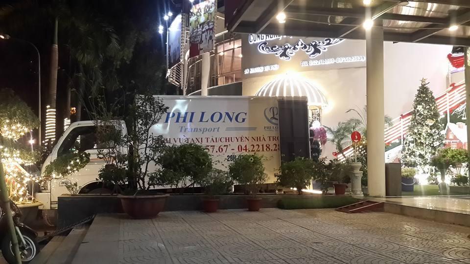 Công ty vận tải Phi Long hãng taxi tải giá rẻ tại phố Triều Khúc