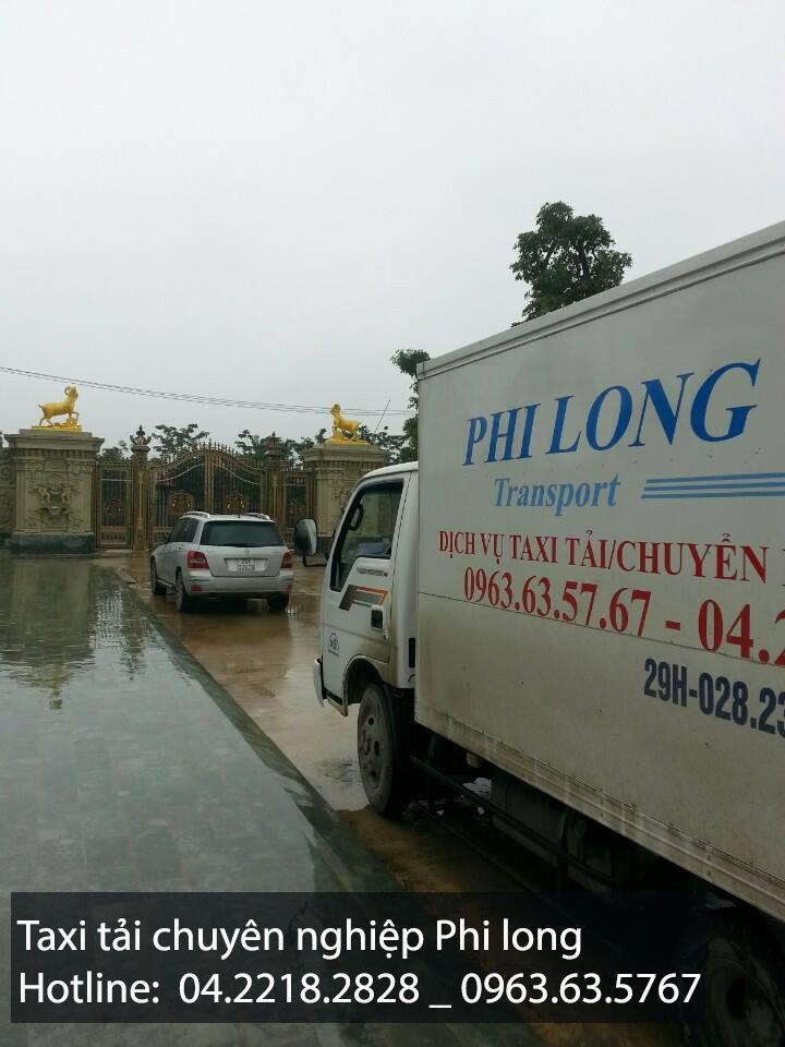 Cho thuê xe tải Phi Long tại quận Tây Hồ