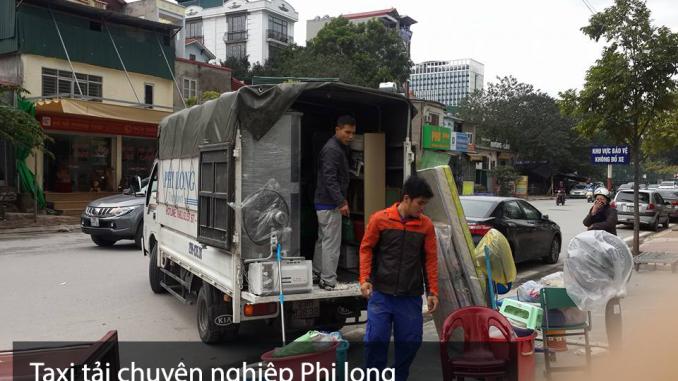 CHo thuê xe tải chuyển nhà Phi Long tại phố Cự Lộc