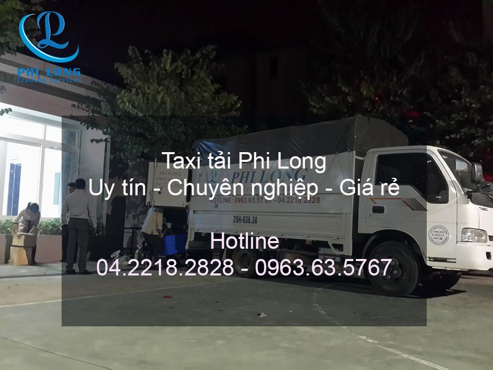 Dịch vụ cho thuê xe tải giá rẻ Phi Long tại phố Bùi Xương Trạch
