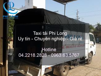 Cho thuê xe tải giá rẻ chuyên nghiệp của công ty Phi Long tại phố Bùi Xương Trạch