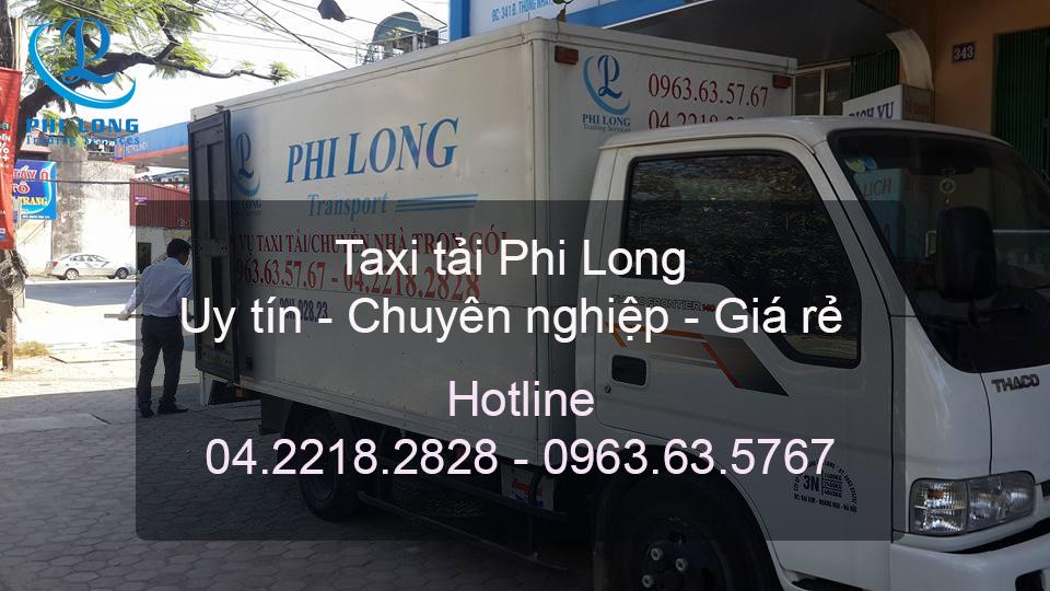 Cho thuê xe tải tại huyện Đông Anh Phi Long