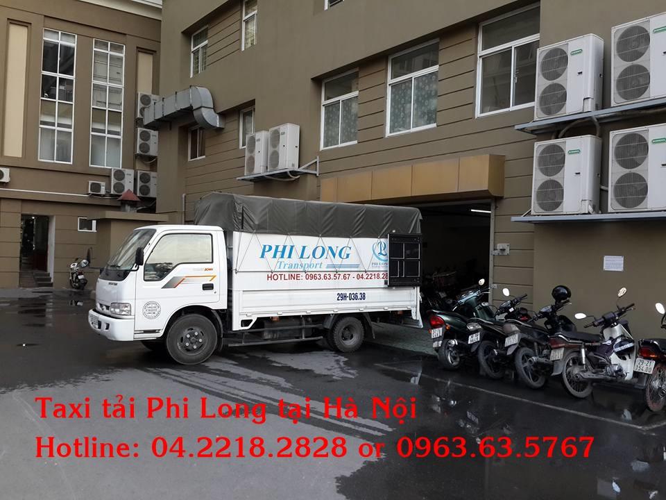 Cho thuê xe tải giá rẻ Phi Long tại phố Văn Yên