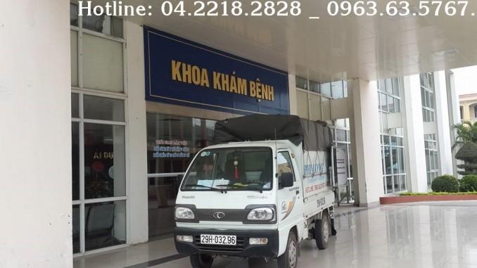 Cho thuê xe tải từ các tỉnh về Hà Nội Phi Long