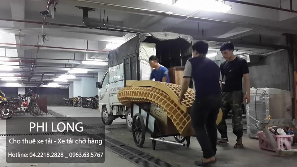 Dịch vụ cho thuê xe tải chuyển nhà giá rẻ tại đường Vũ Trọng Phụng