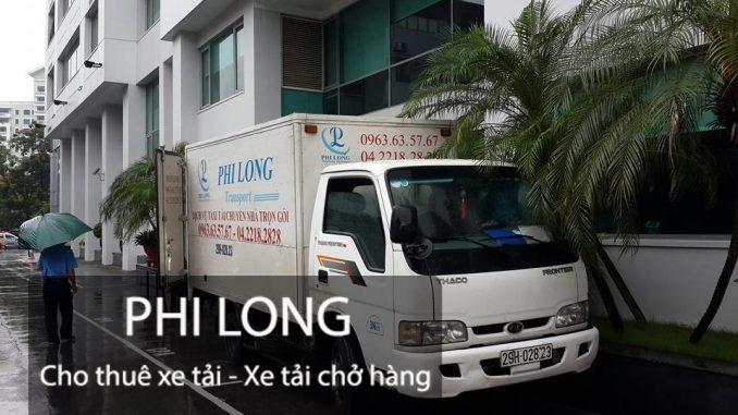 Phi Long cho thuê xe tải chở hàng giá rẻ chuyên nghiệp tại đường Yên Xá
