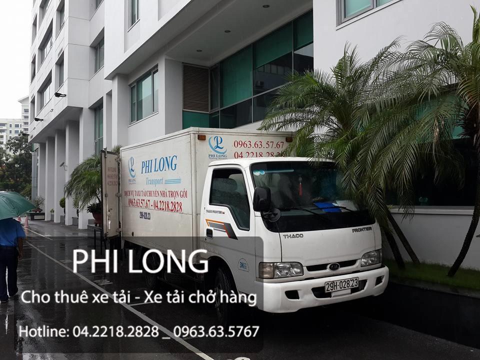Dịch vụ cho thuê xe tải chở hàng hóa tại đường Chiến Thắng
