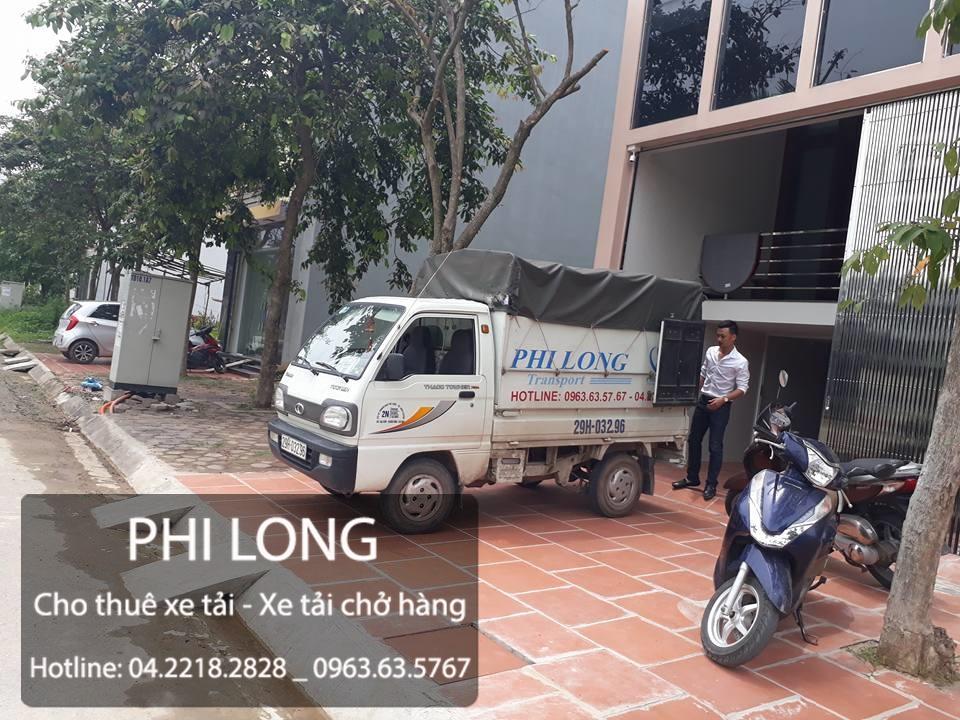 Cho thuê xe tải chở hàng giá rẻ chuyên nghiệp tại đường Yên Xá