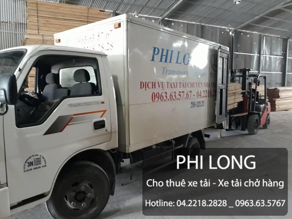 Phi Long cho thuê xe tải chuyển nhà trọn gói tại đường Chiến Thắng