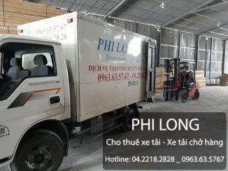 Dịch vụ cho thuê xe tải Phi Long tại phố Tô Hiệu