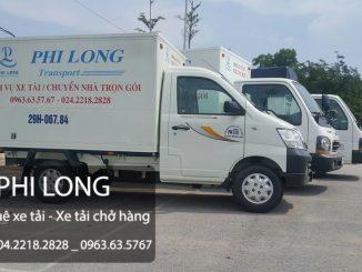 Dịch vụ thuê xe tải giá rẻ chuyên nghiệp tại phố Hồng Mai - 0963.63.5767