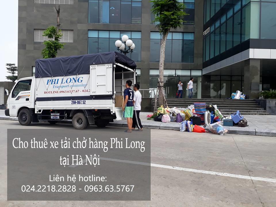 Dịch vụ cho thuê xe tải chở hàng tại phố Lê Hồng Phong
