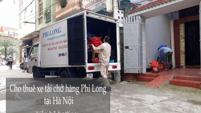 Dịch vụ cho thuê xe tải giá rẻ tại phố Phú Thượng