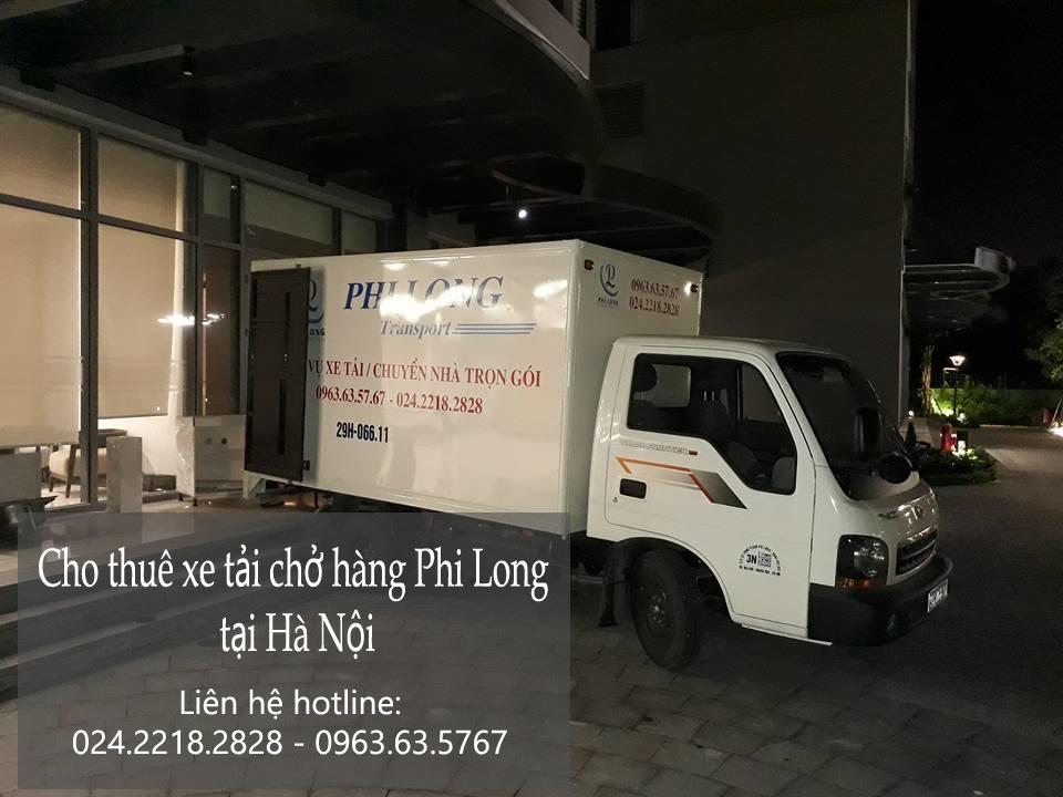 Dịch vụ cho thuê xe tải giá rẻ tại phố Phó Đức Chính