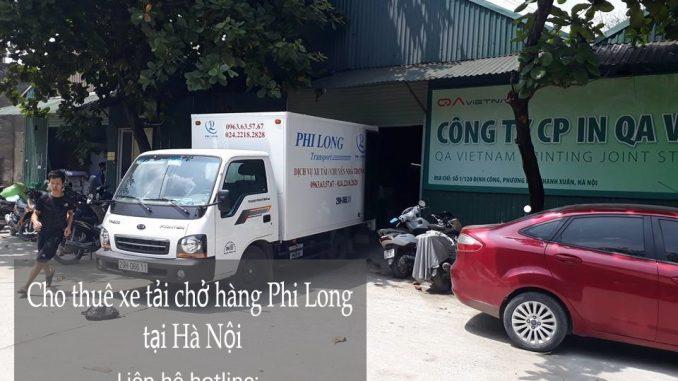 Dịch vụ cho thuê xe tải giá rẻ tại phố Lệ Mật-0963.63.5767