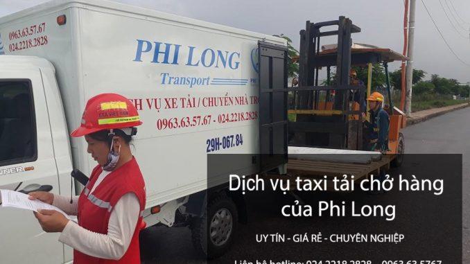 Dịch vụ thuê xe tải giá rẻ tại phố Yên Nội