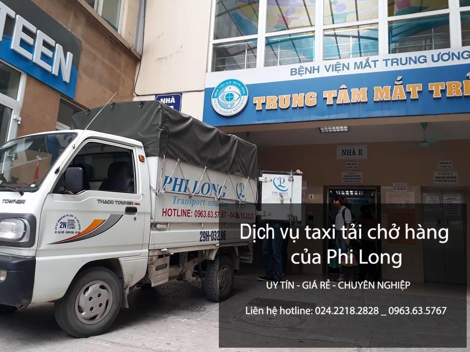 Dịch vụ cho thuê xe tải giá rẻ tại phố Tô Hiến Thành-Hà Đông