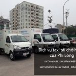 Taxi tải Phi Long hãng cho thuê xe tải chở hàng tại phố Bạch Thái Bưởi