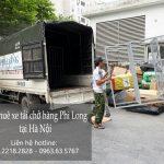 Cho thuê xe tải chở hàng giá rẻ tại phố Sơn Tây
