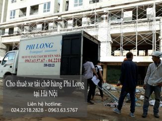 Cho thuê xe tải 500kg giá rẻ tại phố Chu Huy Mân-0963.63.5767