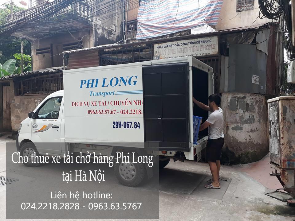 Cho thuê xe tải giá rẻ tại phố Nguyên Khiết-0963.63.5767