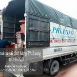 Cho thuê xe tải chở hàng giá rẻ tại phố Tân Thụy