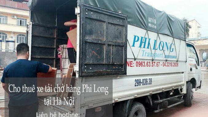 Cho thuê xe tải chở hàng giá rẻ tại phố Tân Thụy-0963.63.5767