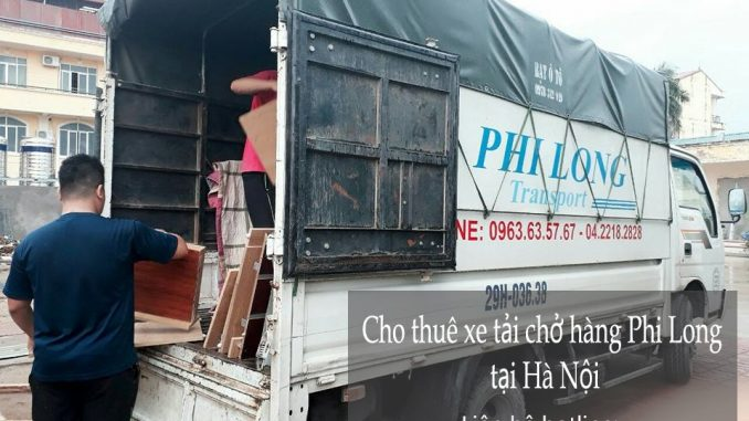 Cho thuê xe tải giá rẻ phố Hoa Lâm-0963.63.5767