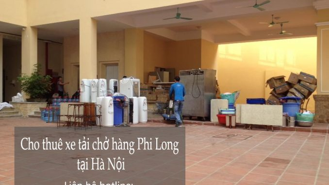 Cho thuê xe tải giá rẻ tại phố Yên Duyên