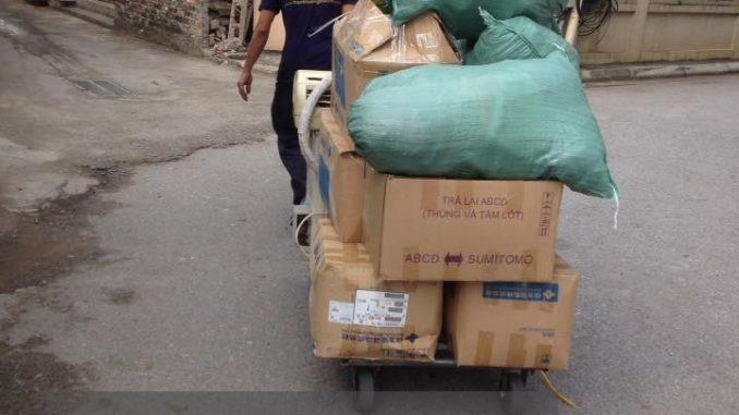 dịch vụ cho thuê xe tải giá rẻ tại phố Đức Giang