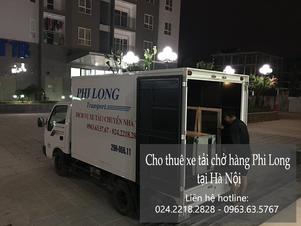 Dịch vụ thuê xe tải giá rẻ tại phố Võ Chí Công