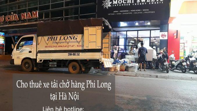 Cho thuê xe tải giá rẻ tại phố Thiên Yên