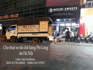 Cho thuê xe tải giá rẻ tại phố Nguyễn Tri Phương