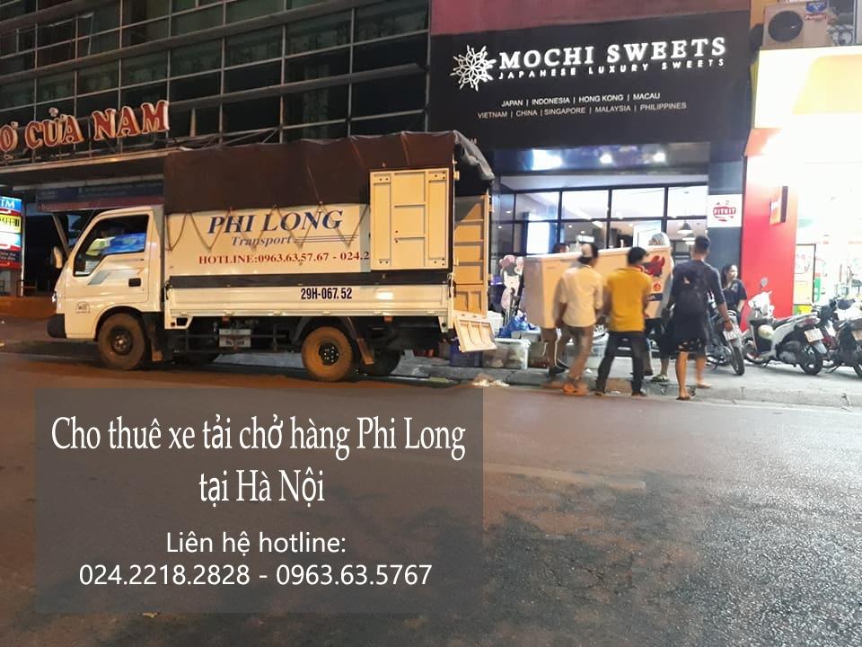 Dịch vụ cho thuê xe tải chuyển nhà tại phố Lê Hồng Phong
