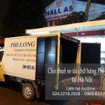 Dịch vụ thuê xe tải giá rẻ tại phố Trần Quang Diệu